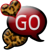 GO SMS THEME/RedLeopard