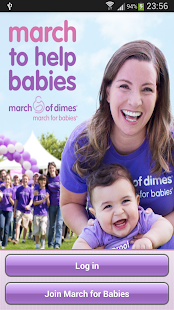 March for Babies for Android - screenshot thumbnail
