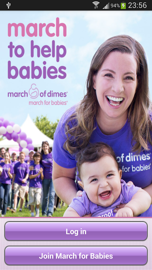March for Babies for Android - screenshot