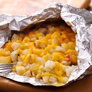 Grilled Cheesy Potato Packet.
