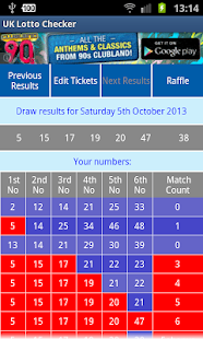 UK Lotto Checker