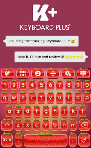 草莓键盘主题