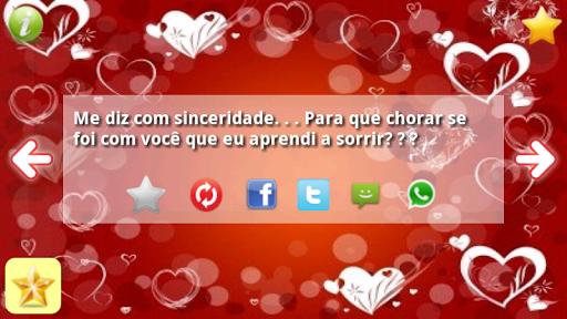 Frases Românticas Amor SMS