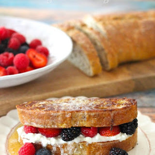 The Organic Kitchen French Toast with Berries
