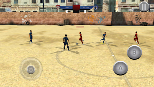 市サッカー:サッカーゲーム
