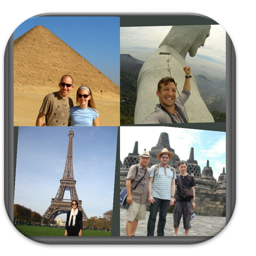 Travelling Photo Collage Frame