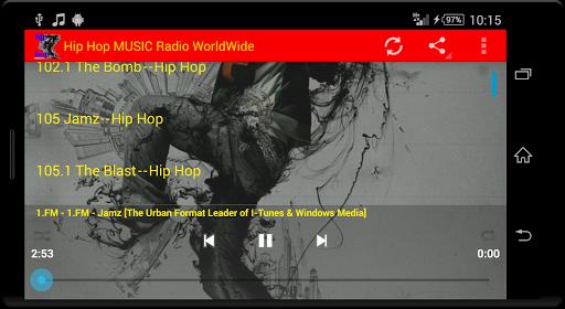 Hip Hop MUSIC Radio WorldWide  screenshots 14