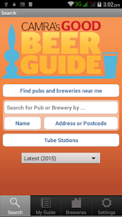 CAMRA Good Beer Guide 2017- screenshot thumbnail