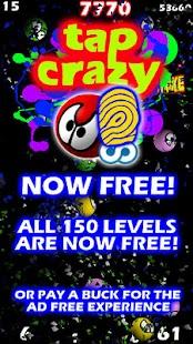 Tap Crazy Free - screenshot thumbnail