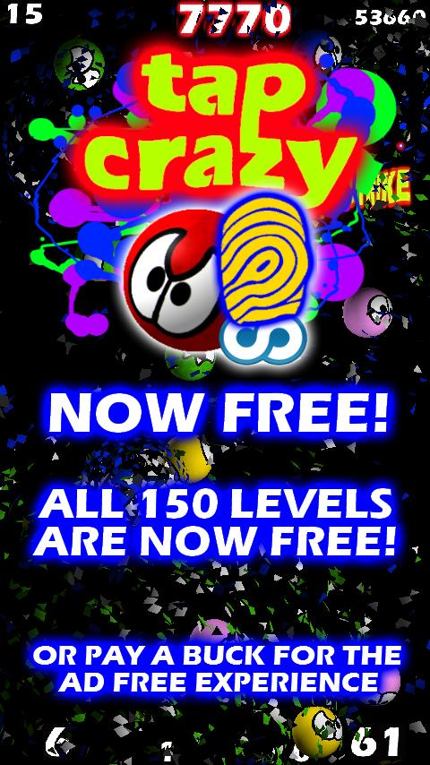Tap Crazy Free - screenshot