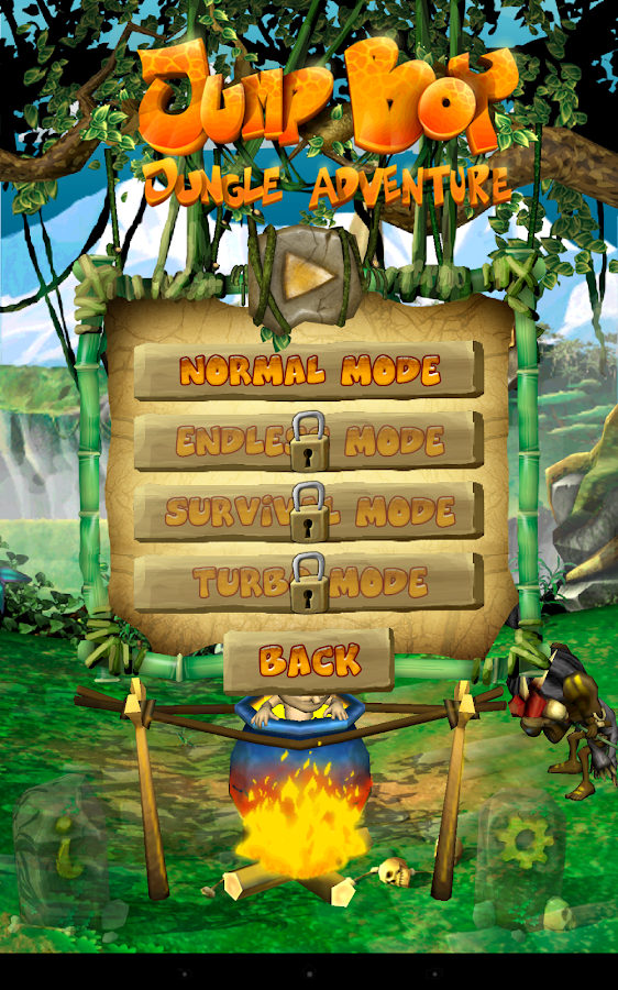 Jump Boy : Jungle Adventure- screenshot