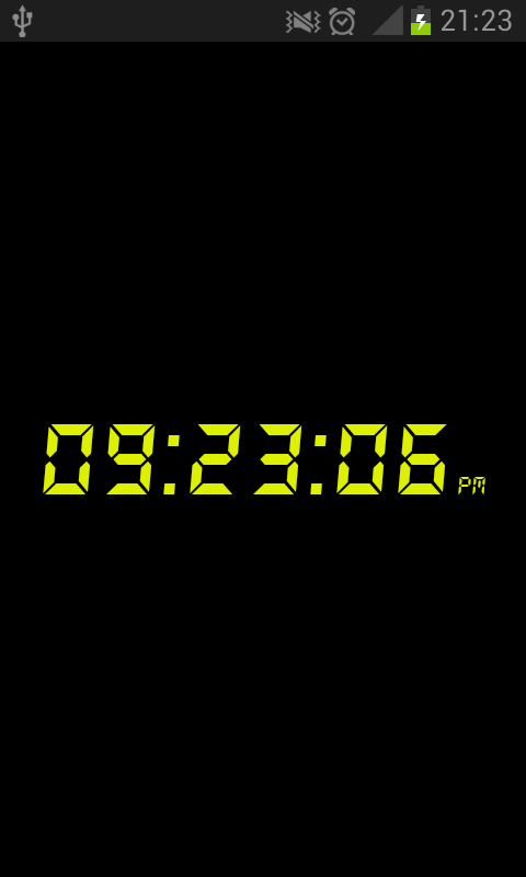 Digital Clock- screenshot