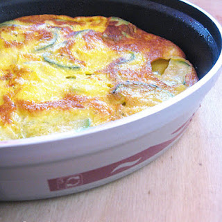 Zucchini Frittata with Mint