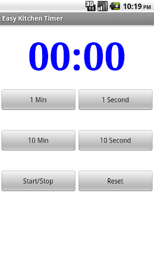 Easy and Simple Kitchen Timer