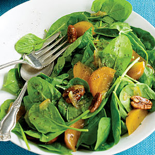 Spinach and Persimmon Salad