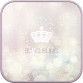 Bling Bling go launcher theme