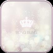 Bling Bling go launcher theme