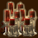 Candle Crystal Live Wallpaper