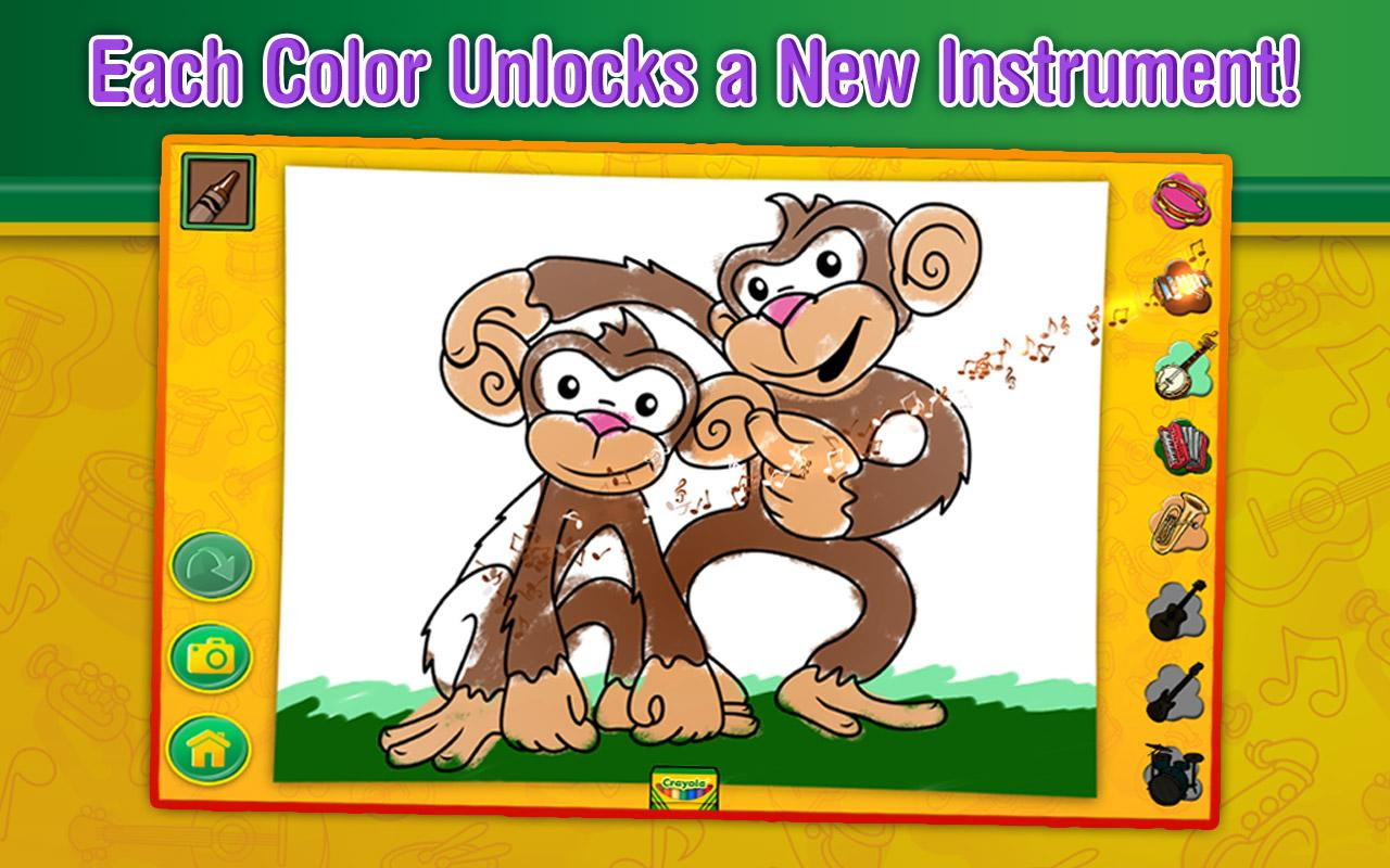 Crayola Color, Draw & Sing- screenshot
