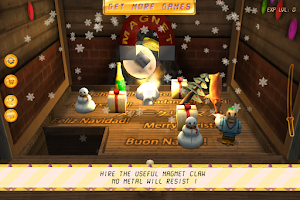Screenshot of Christmas Claw