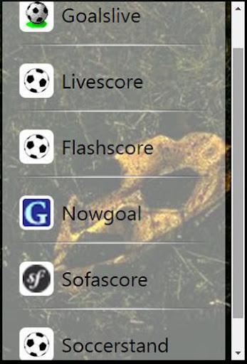 Livescore Browser