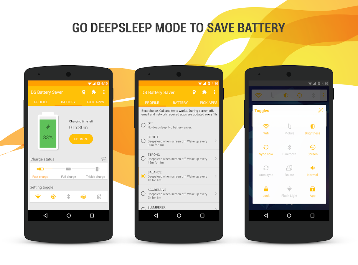 Deep Sleep Battery Saver- screenshot