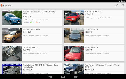 mobile.de – vehicle market Screenshot 29