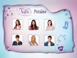 Screenshot of Violetta Puzzles