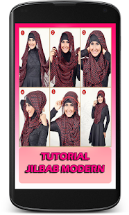 Tutorial Jilbab Modern