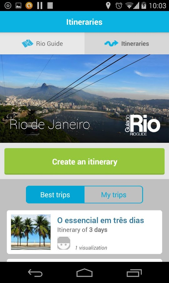 Rio Official Guide- screenshot