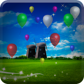 Balloons Flying Live Wallpaper
