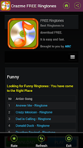 FREE Ringtones Crazme screenshot 7