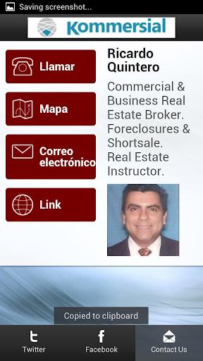 Ricardo Quintero - Broker