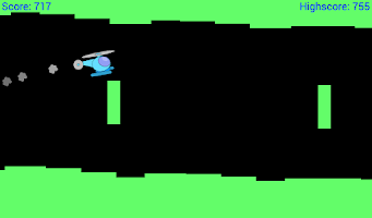 Screenshot of Helicopter Classic