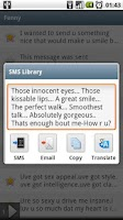 Screenshot of SMS Library Pro Key