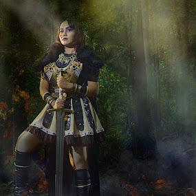 #virgin warrior by Li Yeenz - People Portraits of Women