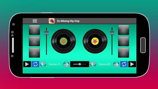 DJ Mixing Hip Hop