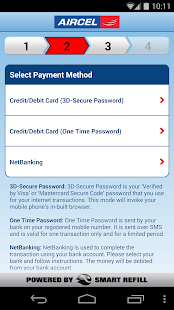 Aircel Pocket Payment - screenshot thumbnail