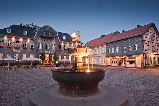 Germany-historic-Goslar-Town - Historic townsquare in Goslar, Germany.