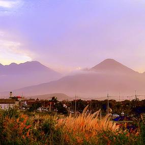 Arjuno and Welirang mountains by Dino Rimantho - Landscapes Mountains & Hills ( hills, mountains, welirang, arjuno, east of java,  )