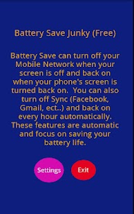 Battery Save Junky (Free) - screenshot thumbnail