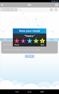 Moodtrack Diary: Mood Tracker- screenshot thumbnail