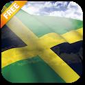 3D Jamaica Flag Live Wallpaper