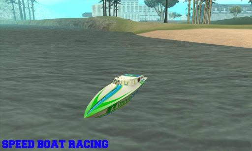 Speed Boat Racing