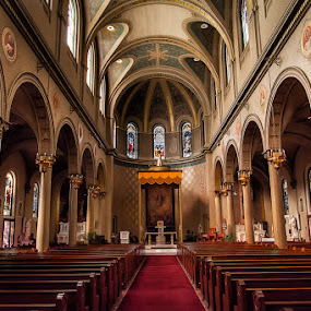 Church of the Assumption, Brooklyn NY by Kevin Case - Buildings & Architecture Places of Worship ( interior, prayer, church, holy, architecture, worship )
