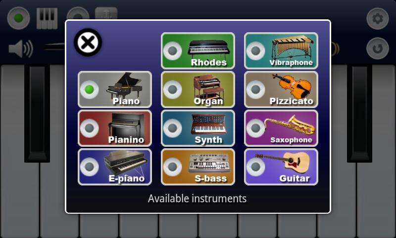 My Piano- screenshot