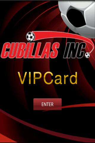 Cubillas Card- screenshot