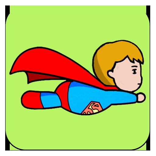 Superman Fly 休閒 App LOGO-APP開箱王
