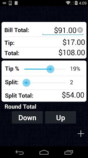 Tip Calculator Screenshot