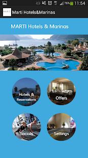 Marti Hotels&Marinas- ekran görüntüsü küçük resmi
